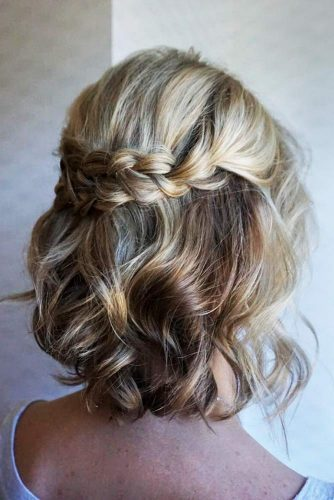 Beautiful Medium Hairstyles With Braids Picture 2