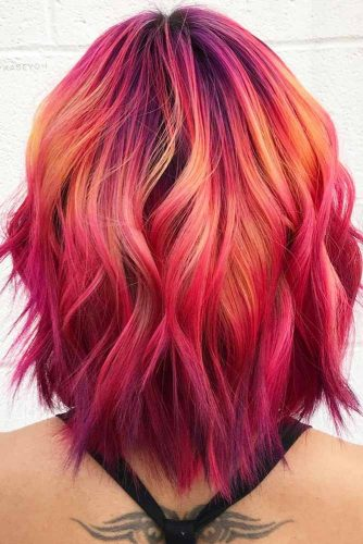 Beautiful Wavy Style for Medium Hair picture 2