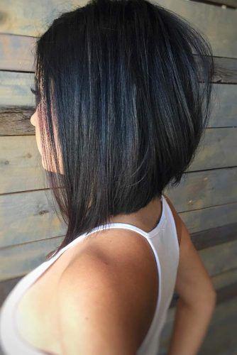Black Lob Haircut #haircutstyles #haircuts #bobhaircut