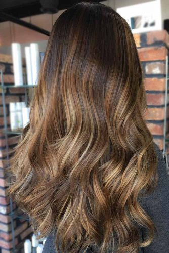 Blonde and Brown Balayage picture2