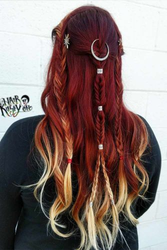 Blonde Highlights Ideas on Colored Hair Picture 5