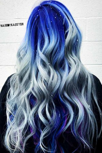 Blonde Highlights Ideas on Colored Hair Picture 6