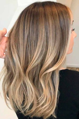 Blonde Highlights On Light Brown Hair #lightbrownhair #blondehighlights