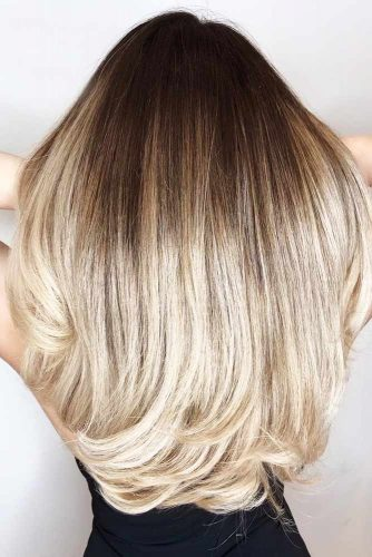 Blonde Ombre Hair Brunette #blondehair #brunette #ombre