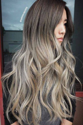 Blonde Ombre on Brown Hair Colors picture2
