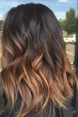 Blonde Ombre on Brown Hair Colors picture3