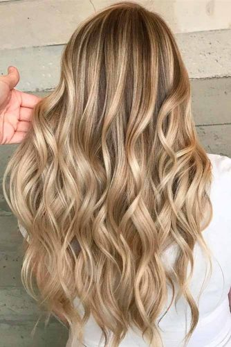 Blonde Shades Hair with Blonde Balayage #blondebalayage