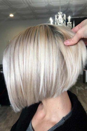 Blonde Short Bob Haircut #haircutstyles #haircuts #shorthaircuts #bobhaircut