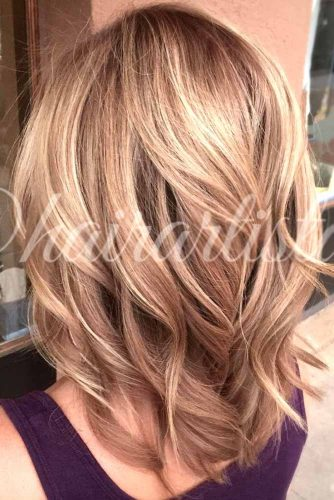 Blonde To Rose Gold Shade
