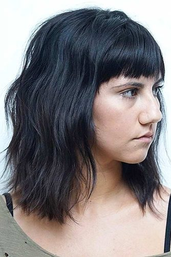 Blunt Bang and Layered Haircut picture 5