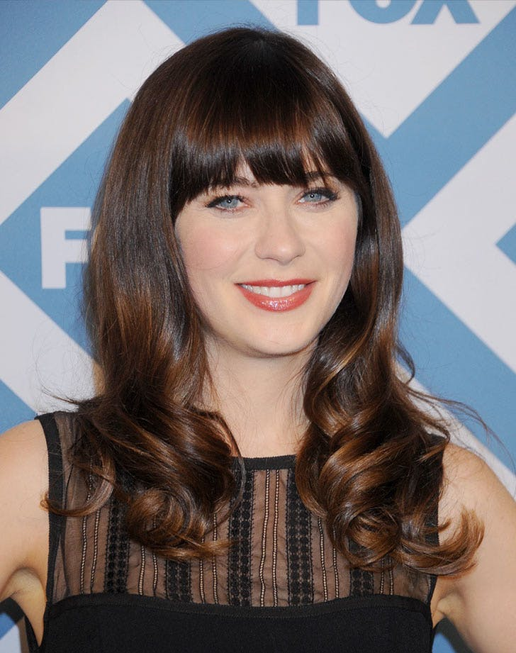 blunt bangs zooey deschanel28