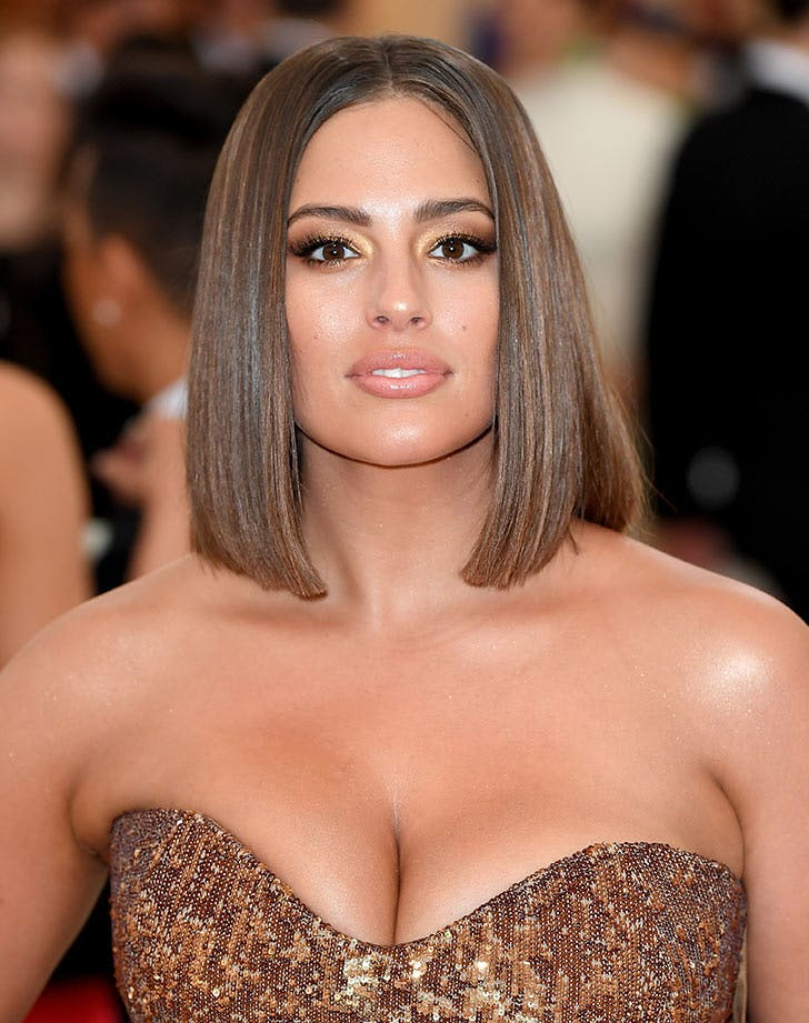 blunt bob haircut ashley graham2
