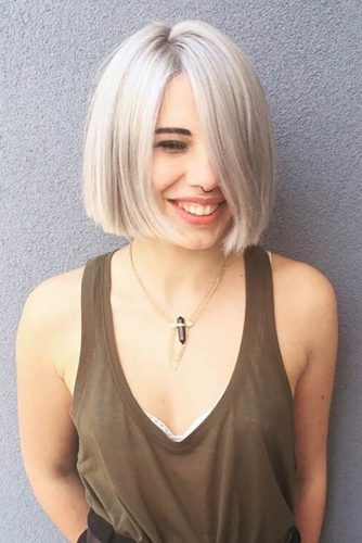 Blunt Bob Haircuts for Thin Hair picture1
