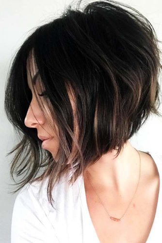 Bob cuts are a great way to add volume to thin hair