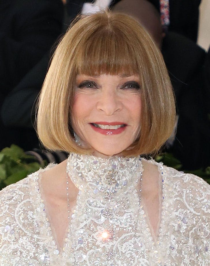 bob with bangs anna wintour