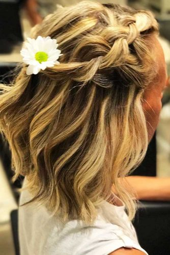 Braided Hairstyles for Short Hair picture 1