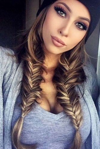 Braided Hairstyles for Winter picture 1