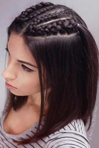 Braided Long Bob Hairstyles picture1