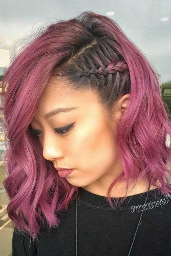 Braided Long Bob Hairstyles picture3