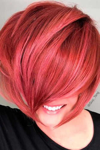 Bright Look with Short Red Hair picture 3