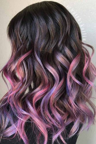 Brown Ombre with Bright Strands picture3