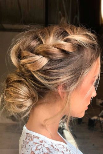 Bun Hairstyles for Thin Hair picture 1