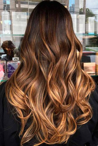 Caramel Chocolate Brown