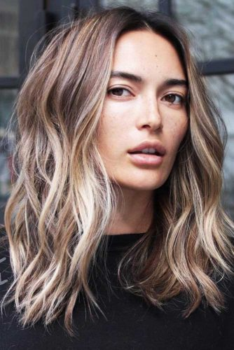 37 BEACH WAVY HAIRSTYLES FOR MEDIUM LENGTH HAIR - Hairs.London
