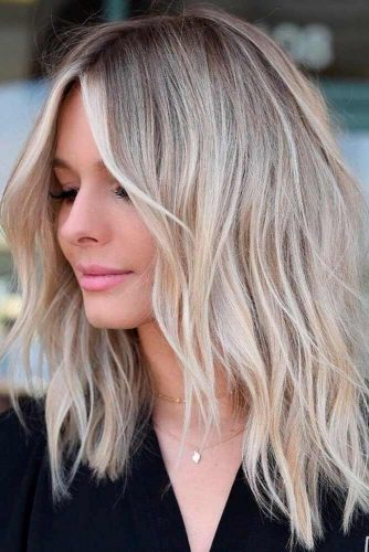 36 Chic Medium Length Layered Haircuts For A Trendy Look