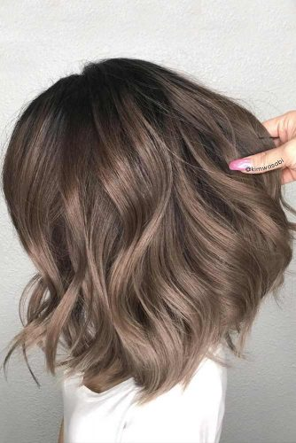 Chocolate Brown Hair with Highlights picture1