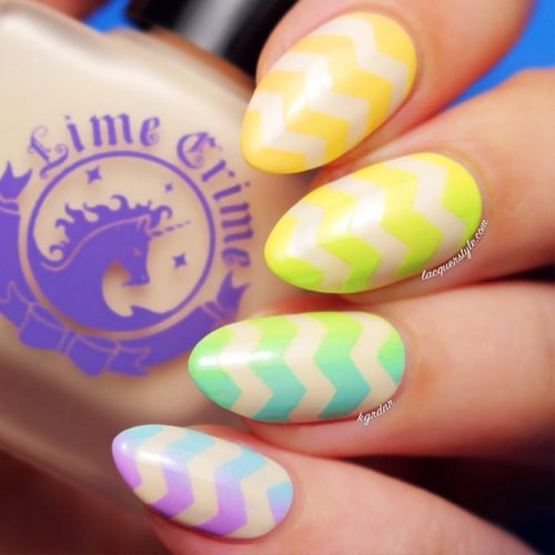 Colorful Eye-Catchy Almond Nails to Make Your Look Bright Picture 2