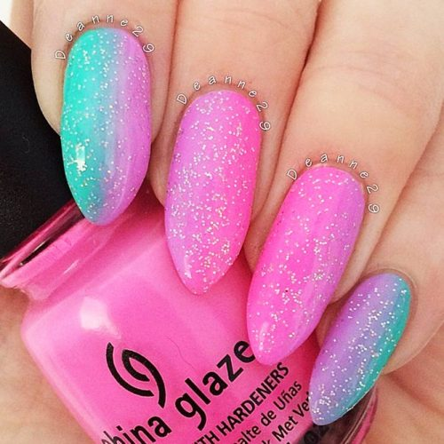 Colorful Eye-Catchy Almond Nails to Make Your Look Bright Picture 1