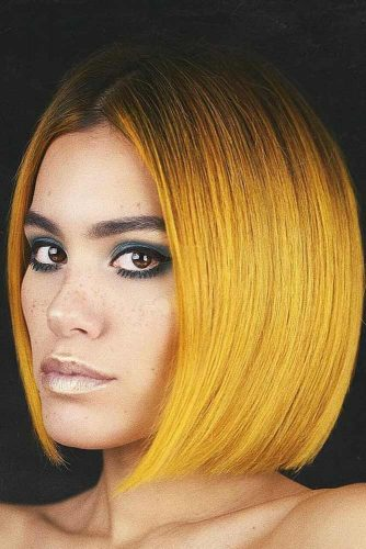Colorful Ombre Ideas Yellow #ombre