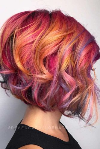 Colorful Styles For Short Hair Picture1 Hairs London