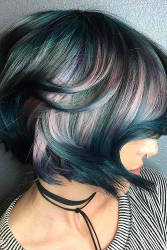 Colorful Styles for Short Hair picture2