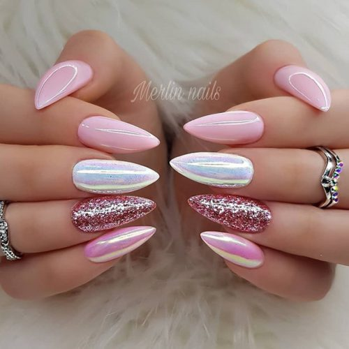 Cool Almond Nails To Inspire You picture 2