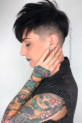 Cool Shaved Pixie picture1