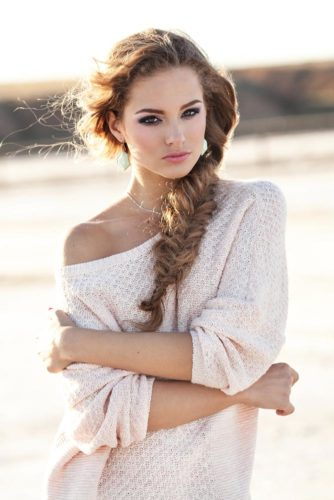 Cute Braided Hairstyles for Long Hair picture 2