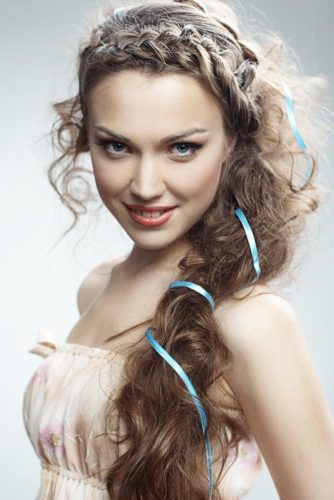 Cute Braided Hairstyles for Long Hair picture 3