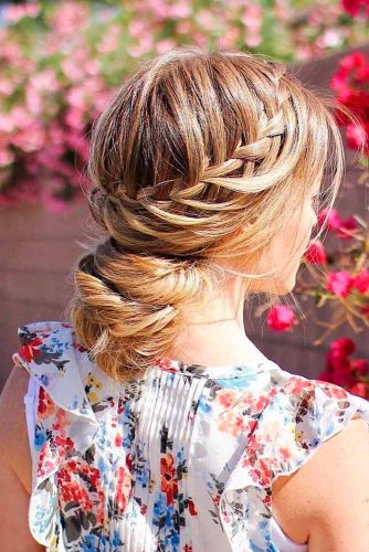 Cute Hairstyles for Sweety and Romantic Look picture 4