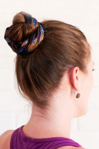 Cute Hairstyles with Scarves picture 1