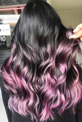 49 Bold And Provocative Dark Purple Hair Color Ideas