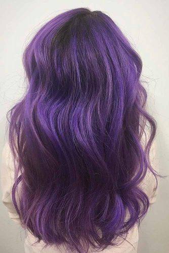 Dark Purple Hair Dusty Mauve picture2