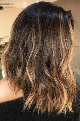 Dark Roots With Honey Highlights #blondehair #brunette #highlights