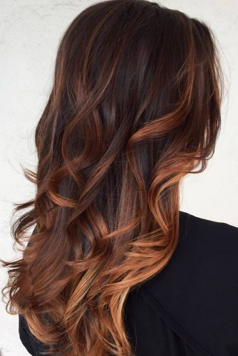 Deep Cooper Ombre for Brown Hair picture3