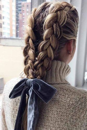 Double Dutch Braids #braids #thinhair