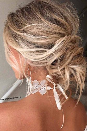 Easy Messy Knot For Every Day #knotshairstyles #messyhairstyles