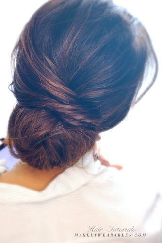 Elegant Bun for Medium Hair picture 1