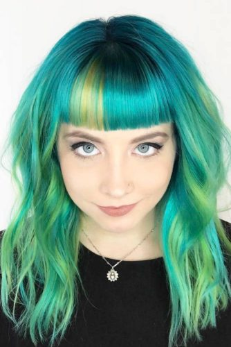 Extremely Different Hairstyles with Bangs picture 3