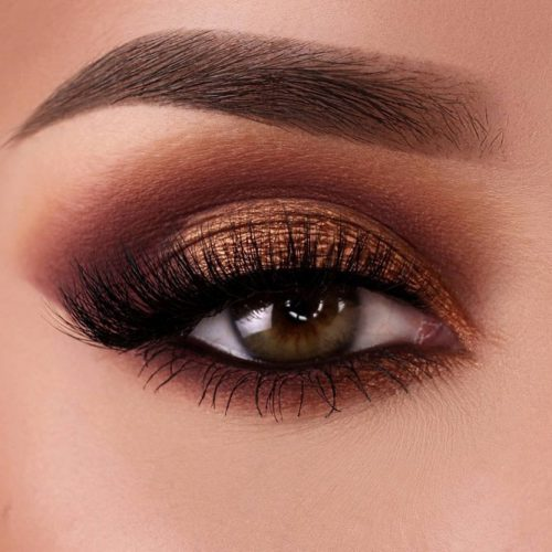 Fall Elegance Eyes Makeup Ideas picture 1